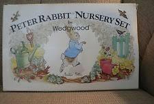 wedgwood rabbit nursery set wedgwood rabbit ebay