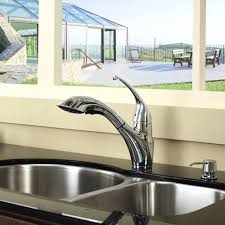 kitchen faucet set kraususa com discontinued single lever pull out kitchen faucet and soap dispenser