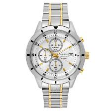 amazon black friday specials on seiko mens watches seiko men u0027s special value chronograph stainless steel watch