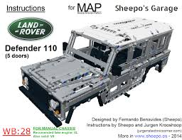 lego jeep wrangler instructions sheepo u0027s garage instructions
