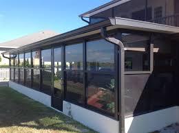 Painting Aluminum Screen Enclosures by Patio Screen Enclosures Porches And Lanais
