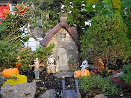 miniature halloween village child u0027s garden the mini garden guru from twogreenthumbs com