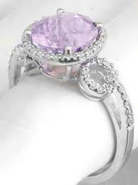 amethyst engagement rings light purple amethyst and ring in 14k white gold gr 2091