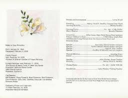 Funeral Program Ideas Sample Church Program 27 Policy And Procedure Manual Church