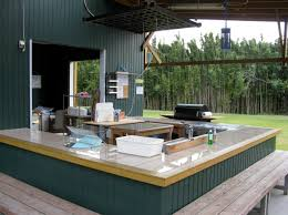 outside kitchen cabinets kitchen countertop built in outdoor grill outdoor kitchen