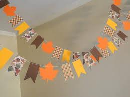 papel garland decoración de acción de gracias thanksgiving