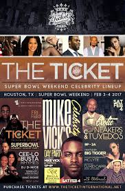 Radio Personalities In Houston Houston Super Bowl Parties 2017 The Ticket International Houston