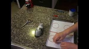 arts and crafts for kids how to make an ice hockey skating rink