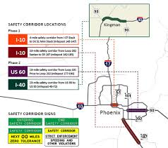 Surprise Arizona Map by Why Going U002710 Over U0027 The Speed Limit Is Now Going To Cost A Bundle