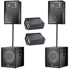 jbl home theater jbl jrx dj pa speaker system jrx215 jrx218s jrx212 ss3bk new pro