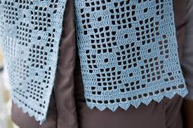 Trellis Scarf The Farmer U0027s Wife Crochet June 2015