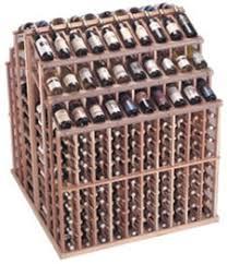 triple tier island wine display commercial wine rack
