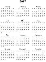 print calendars for 2017 print free calendar 2017