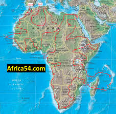 Morocco Map Africa africa travels table