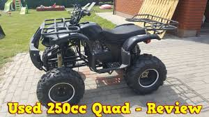 cheap chinese 250cc quad atv after 2 years review test run