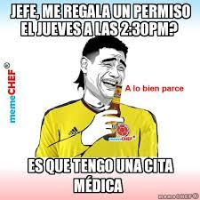 Colombia Meme - meme yao colombia diciendo jefe me regala un permiso el jueves a