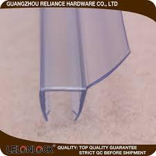pvc rubber glass sealing strip for frameless shower door sweep