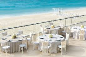 rock cancun wedding rock cancun stylish ivory terrace wedding reception