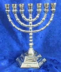seven branch menorah menorah seven branch menorah gold plated 7 branch