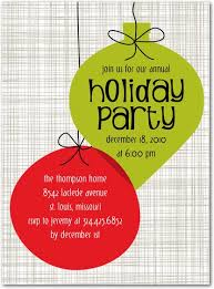 Christmas Ornament Party Invitations - work christmas party invitations cimvitation