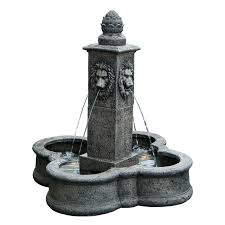 outdoor water fountain pumps lowes garden water fountains lowes