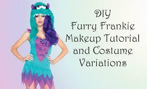 Frankie Halloween Costume Diy Furry Frankie Monster Costume Ideas Halloween Costumes Blog