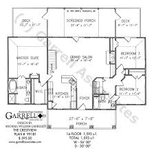 one story house plan crestview house plan house plans by garrell associates inc
