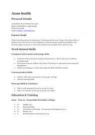 C Resume Sample Teen Resume Examples Haadyaooverbayresort Com