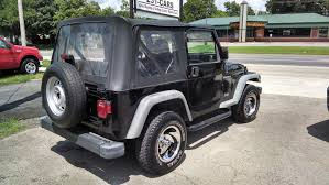 dark gray jeep wrangler 2 door loughmiller motors