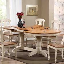 iconic furniture oval pedestal dining table hayneedle