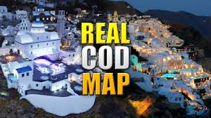 Map Of Santorini Greece by Call Of Duty Map In Real Life Cod Aw Terrace Irl Google Earth