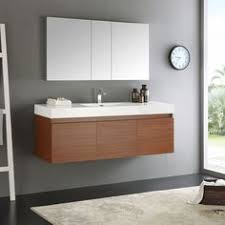 Bathroom Vanity Modern by From Houzz Two Ikea Mirrored Medicine Cabinets Are Hung Side By