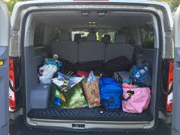 gmc yukon trunk space a surprisingly good vacation van 2015 ford transit wagon xlt