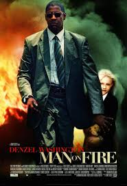 click to view extra large poster image for man on fire movie
