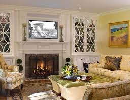 Ways To Decorate A Fireplace Mantel by Decorating A Mantel With A Tv Above Meadow Lake Road