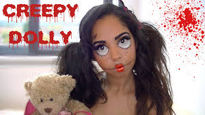 creepy doll halloween makeup tutorial j 14