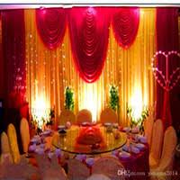 wedding backdrop canada fabric drape decoration wedding canada best selling fabric drape