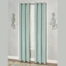 coastal dream grommet window treatment