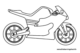motorcycle coloring pages coloring pages kids
