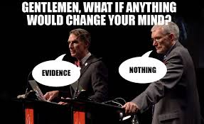 Ken Ham Meme - the bill nye vs ken ham debate summed up in one photo imgur