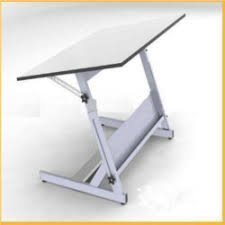 Standard Drafting Table Size Koh I Noor Gray Adjustable Drawing Table Rs 3800 A A