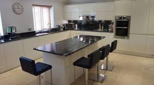 meuble central cuisine ilot centrale cuisine ilot central plan de travail pinacotech