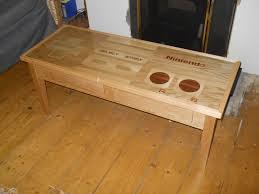 Macdonald Hardwood by Diy Nintendo Controller Table
