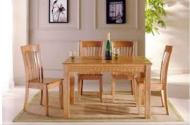Light Oak Dining Room Chairs Wonderful Decoration Wooden Dining Room Sets Intricate Solid Wood