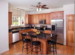 kitchen color ideas with oak cabinets and black appliances bisque restyling home by oak kitchen