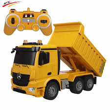 free shipping buy best rc truck 2 4g dump truck brand radio