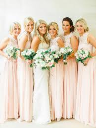 wedding dresses for of honor lace chiffon crew neck bridesmaid dresses open back floor