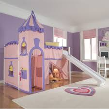 little girls twin bed little princess bed with slide ktactical decoration