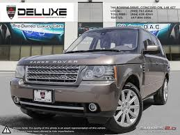 lexus used barrie used land rover range rover for sale barrie on cargurus