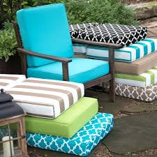 Outside Cushions Patio Furniture Sunbrella Outdoor Pillows Seat Cushions Outdoor Cushions